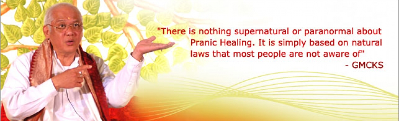 MCKS: Pranic Healing is gebaseerd op natuurlijke levenswetten waar de meeste mensen niet bewust van zijn.  Er is dus niets bovennatuurlijks of paranormaal aan deze methode.